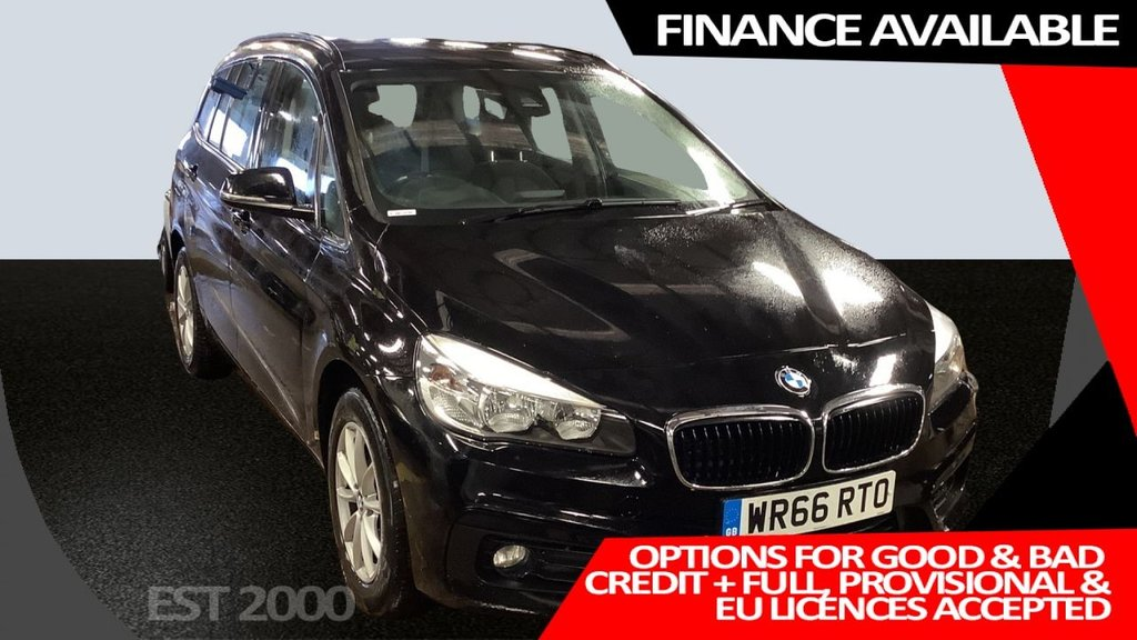 USED 2016 66 BMW 2 SERIES 2.0 218D SE GRAN TOURER 5d 148 BHP * BMW INTELLIGENT SAFETY * REVERSING CAMERA * SATELLITE NAVIGATION * ONE OWNER * FULL BMW HISTORY *
