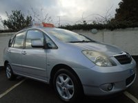 USED 2003 53 TOYOTA COROLLA 1.8 VERSO T SPIRIT VVT-I 5d 133 BHP GUARANTEED TO BEAT ANY 'WE BUY ANY CAR' VALUATION ON YOUR PART EXCHANGE