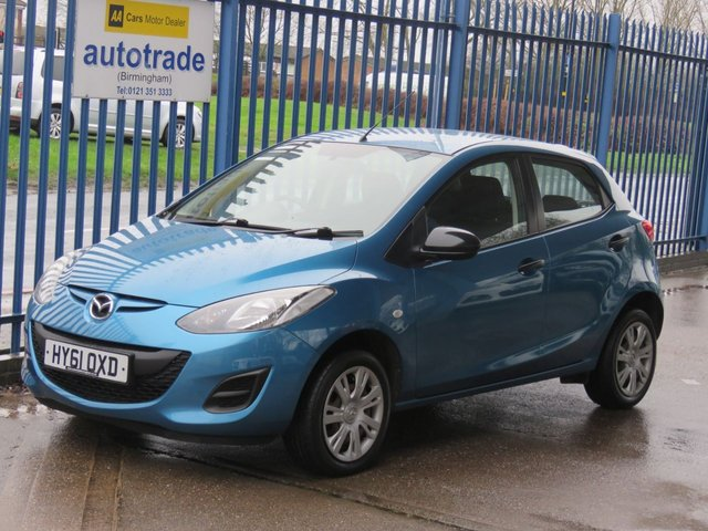 USED 2011 61 MAZDA 2 1.3 TS 5dr Air con CD player ULEZ COMPLIANT