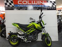 2020 BENELLI TNT 125cc IN SUPER FAST GREEN £2099.00