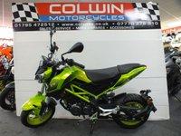 USED 2020 69 BENELLI TNT 125cc IN SUPER FAST GREEN 2020 MODEL IN SUPER FAST GREEN