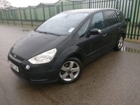 USED 2008 08 FORD S-MAX 2.0 TITANIUM TDCI 5d 143 BHP MOT 07/20 7 SEATS CRUISE CLIMATE PRIVACY 7 SEATS. BLACK MET WITH BLACK CLOTH TRIM. CRUISE CONTROL. 16 INCH ALLOYS. COLOUR CODED TRIMS. PRIVACY GLASS. PARKING SENSORS. CLIMATE CONTROL WITH AIR CON. R/CD PLAYER. E.WINDOWS. E.MIRRORS. MOT 07/20. AGE/MILEAGE RELATED SALE.P/X CLEARANCE CENTRE - LS23 7FQ. TEL 01937 849492 OPTION 3