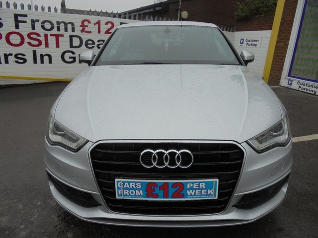 USED 2013 13 AUDI A3 2.0 TDI S LINE 3d 148 BHP CALL 01543 379066... 12 MONTHS MOT... 6 MONTH WARRANTY... SAT NAV... DIESEL... JUST ARRIVED... TEST DRIVE TODAY