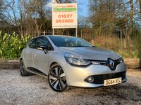 USED 2014 64 RENAULT CLIO 0.9 DYNAMIQUE S MEDIANAV ENERGY TCE S/S 5dr Low Mileage, FRSH, £20 Tax