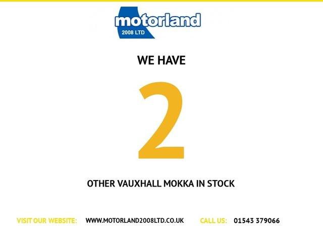 USED 2014 64 VAUXHALL MOKKA 1.7 EXCLUSIV CDTI S/S 5d 128 BHP CALL 01543 379066... 12 MONTHS MOT... 6 MONTHS WARRANTY... DIESEL... LOW TAX... SERVICE HISTORY