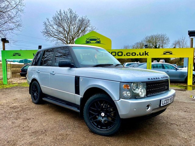 USED 2003 03 LAND ROVER RANGE ROVER 4.4L V8 VOGUE 5d AUTO 282 BHP