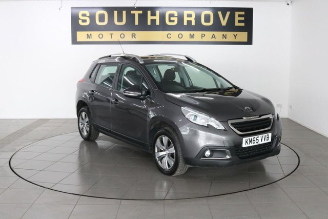 USED 2015 65 PEUGEOT 2008 1.6 BLUE HDI ACTIVE 5d 75 BHP