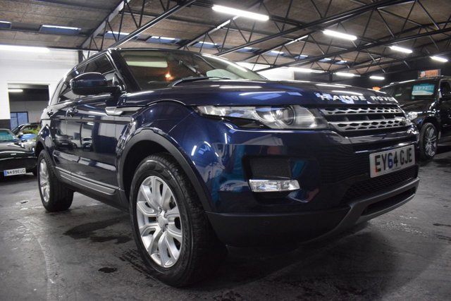 USED 2014 64 LAND ROVER RANGE ROVER EVOQUE 2.2 SD4 PURE TECH 5d 190 BHP AUTO 4X4 GREAT VALUE 64 PLATE EVOQUE PURE TECH - 4X4 - 190BHP - AUTO - ONE PREVIOUS KEEPER - LANDROVER HISTORY - LEATHER - SAT NAV - MERIDIEN SPEAKERS - HEATED SEATS