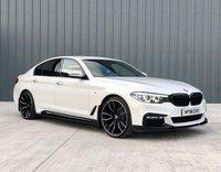 2018 BMW 5 SERIES 2.0 520D XDRIVE M SPORT 4d 188 BHP £27995.00