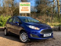 USED 2014 14 FORD FIESTA 1.5 STYLE TDCI 5dr £0 Road Tax, A/Con, PDC