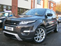 USED 2012 C LAND ROVER RANGE ROVER EVOQUE 2.2 SD4 DYNAMIC LUX 5d 190 BHP