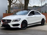 USED 2014 02 MERCEDES-BENZ CLA 2.0 CLA45 AMG Speedshift DCT 4MATIC (s/s) 4dr PAN ROOF - AMG EXHAUST - FSH