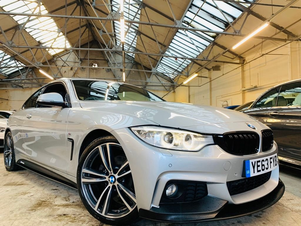 USED 2013 63 BMW 4 SERIES 2.0 420d M Sport 2dr PERFORMANCEKIT+MEMSEATS+19S+