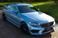 USED 2016 66 MERCEDES-BENZ C CLASS 2.1 C220d AMG Line G-Tronic+ (s/s) 2dr NAV+CAMERA+GT GRILL