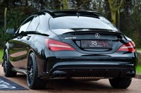 USED 2018 18 MERCEDES-BENZ CLA 2.0 CLA45 AMG SpdS DCT 4MATIC (s/s) 4dr COMMAND+CAM.+AERO KIT+PAN ROOF