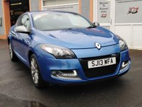 "USED 2013 13 RENAULT MEGANE 1.2 GT LINE TOMTOM ENERGY TCE S/S 3d 115 BHP 1/2 Leather, Reversing Camera, Sat Nav, 17"" Alloys, Cruise Control"
