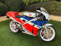 USED 1989 G HONDA VFR VFR400R 399cc A PERFECT EXAMPLE OF THIS RARE BIKE WITH STUNNING DREAM MACHINE PAINTWORK THIS BEAUTIFUL BIKE IS IN FANTASTIC CONDITION AND AS BEEN PART OF A PRIVATE COLLECTION AND AS BEEN CORRECTLY DISPLAYED IN A HEATED SHOWROOM WITH A WIRED IN BATTERY OPTIMISOR COMES COMPLETE WITH ORIGINAL SALES LITERATURE AND ALL BOOKS AND MANUALS. WITH  VFR750 TOUCHING £40000 THIS BIKE REPRESENTS A SURE FIRE INVESTMENT TO BE EMJOYED AND ADMIRED