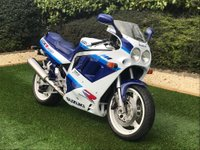 USED 1990 H SUZUKI GSXR1100 1127cc GSXR 1100 L  A Fantastic Example of the Iconic Superbike of the 90s and Genuine Collectors Piece of the Highest Quality. Presenting the GSX-R 1100 L with Incredibly Low Miles and in Immaculate Condition Throughout. This is the 1990 Model L which Changed the Superbike World Forever in Terms of Mechanics, Physics, Handling and Speed with its Revolutionary Inverted Showa Front Forks, Increased Swingarm Length (35mm) and Unprecedented High Speed Stability