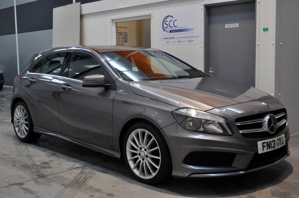 USED 2013 13 MERCEDES-BENZ A CLASS A180 CDi BlueEFFiCiENCY 7G-DCT Auto Start-Stop AMG Sport 1.8 5dr AMG Sport, Low Mileage