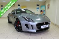 USED 2014 64 JAGUAR F-TYPE 3.0 V6 S 2d 380 BHP MINERAL/CIRRUS LEATHER, SATELLITE NAVIGATION, 20 INCH CYCLONE ALLOY WHEELS, ELECTRIC FRONT SEATS WITH MEMORY, PADDLE SHIFT, POWERED TAILGATE, ELECTRIC SPOILER, JAGUAR DRIVE CONTROL, HEATED FRONT SEATS, BLUETOOTH, REAR PARKING AID, BI XENONS, ELECTRIC FOLDING MIRRORS, BIG SPEC AND, VERY LOW MILEAGE, MUST BE SEEN