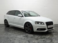 USED 2012 62 AUDI A3 2.0 SPORTBACK TDI S LINE SPECIAL EDITION 5d 138 BHP HALF LEATHER + SERVICE HISTORY + AUX INPUT + PARKING SENSORS