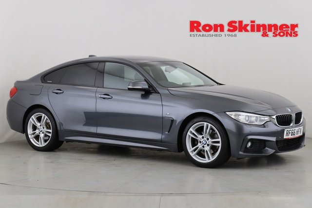 View our 2016 66 BMW 4 SERIES 2.0 420D M SPORT GRAN COUPE 4d AUTO 188 BHP