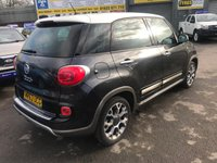 USED 2013 63 FIAT 500L 1.2 MULTIJET TREKKING DUALOGIC(AUTOMATIC) 5d 85 BHP IN THE GREY AND WHITE COLOUR SCHEME, 2 OWNERS, FULL SERVICE HISTORY AND A GREAT SPEC Approved Cars are pleased to offer this immaculate 2013 Fiat 500L 1.2 Multijet in the two tone grey and white colour scheme with only 48400 miles. This ideal family car has been extremely well looked after and maintianed and comes with a full service history. It comes well equipped with DAB radio, parking sensors, rear isofix, automatic gearbox, bluetooth and much much more. For more information or to book a test drive please call our sales team on 01622 871555.