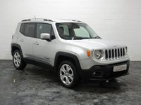2015 JEEP RENEGADE 2.0 M-JET LIMITED 5d 138 BHP £8995.00