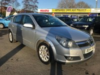 USED 2004 54 VAUXHALL ASTRA 1.8 DESIGN 16V 5d 124 BHP IN METALLIC SILVER WITH 67000 MILES, GREAT SERVICE HISTORY AND SPEC WITH AN AUTOMATIC GEARBOX. THIS IS BEING SOLD AS A TRADE CLEARANCE VEHICLE Approved Cars are pleased to offer this 2004 Vauxhall Astra 1.8 design 5 door in metallic silver. With only miles. This is an ideal automatic family hatchback that has been extremely well looked after and maintained and comes with a great service history.This car comes well equipped with an automatic gearbox, rear isofix, FM/AM radio, multi functional steering wheel, electric windows and much much more. For more information or to book a test drive please call our sales team on 01622 871555.