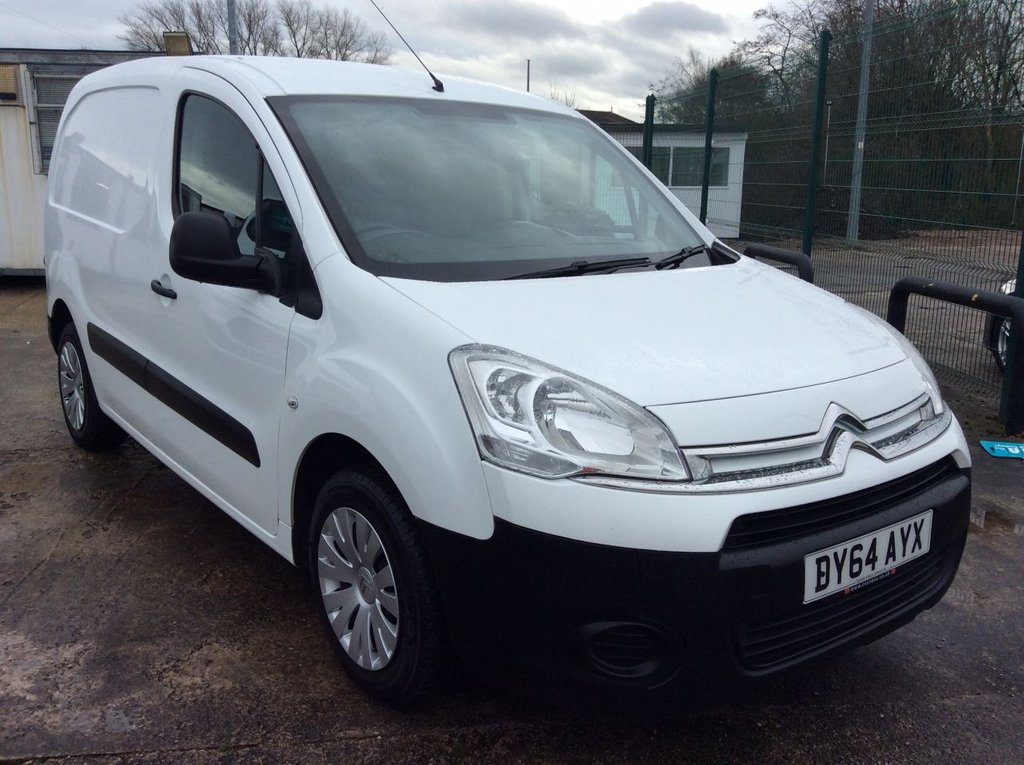 USED 2014 64 CITROEN BERLINGO 1.6 625 ENTERPRISE L1 HDI 74 BHP 1 OWNER FSH NEW MOT  FREE 6 MONTH AA WARRANTY INCLUDING RECOVERY AND ASSIST NEW MOT EURO 5 SPARE KEY 3 SEATS ELECTRIC WINDOWS AND MIRRORS AIR CONDITIONING SATELLITE NAVIGATION REAR PARKING SENSORS