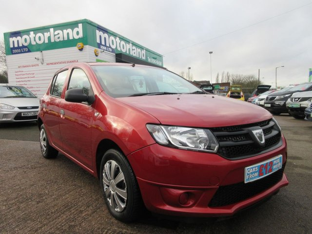 USED 2013 13 DACIA SANDERO 1.1 AMBIANCE 5d 75 BHP ** 01543 454566 ** JUST ARRIVED **