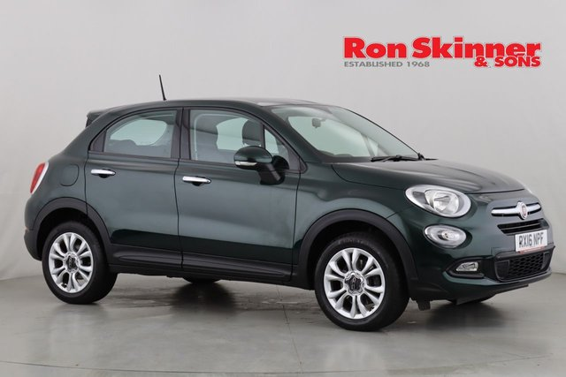 View our 2016 16 FIAT 500X 1.6 POP STAR 5d 110 BHP