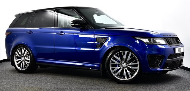 USED 2016 16 LAND ROVER RANGE ROVER SPORT 5.0 V8 Supercharged SVR 4x4 5dr Full Land Rover Service Record