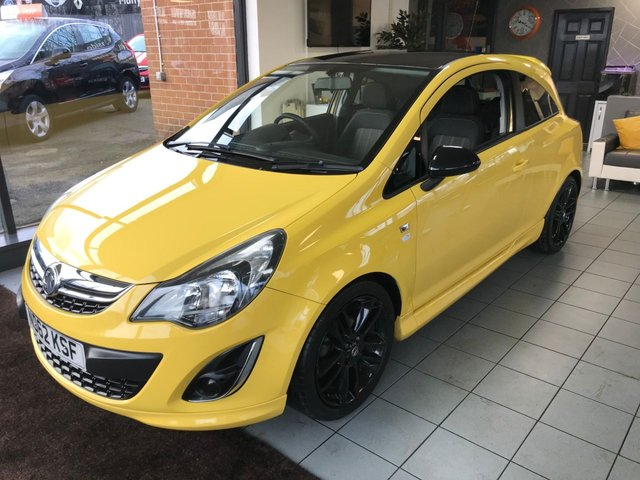 USED 2012 62 VAUXHALL CORSA 1.2 LIMITED EDITION 3d 83 BHP **LOW MILEAGE SPECIAL EDITION**