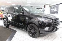 USED 2018 18 FORD KUGA 2.0 TDCI ST-LINE X TDCI AUTO 4WD 180 BHP 1 OWNER PAN ROOF FSH NAV CAM
