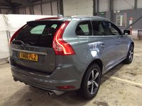 USED 2017 66 VOLVO XC60 2.0 D4 R-DESIGN LUX NAV 5d 188 BHP ONE OWNER 2017 Model NAV Xenons