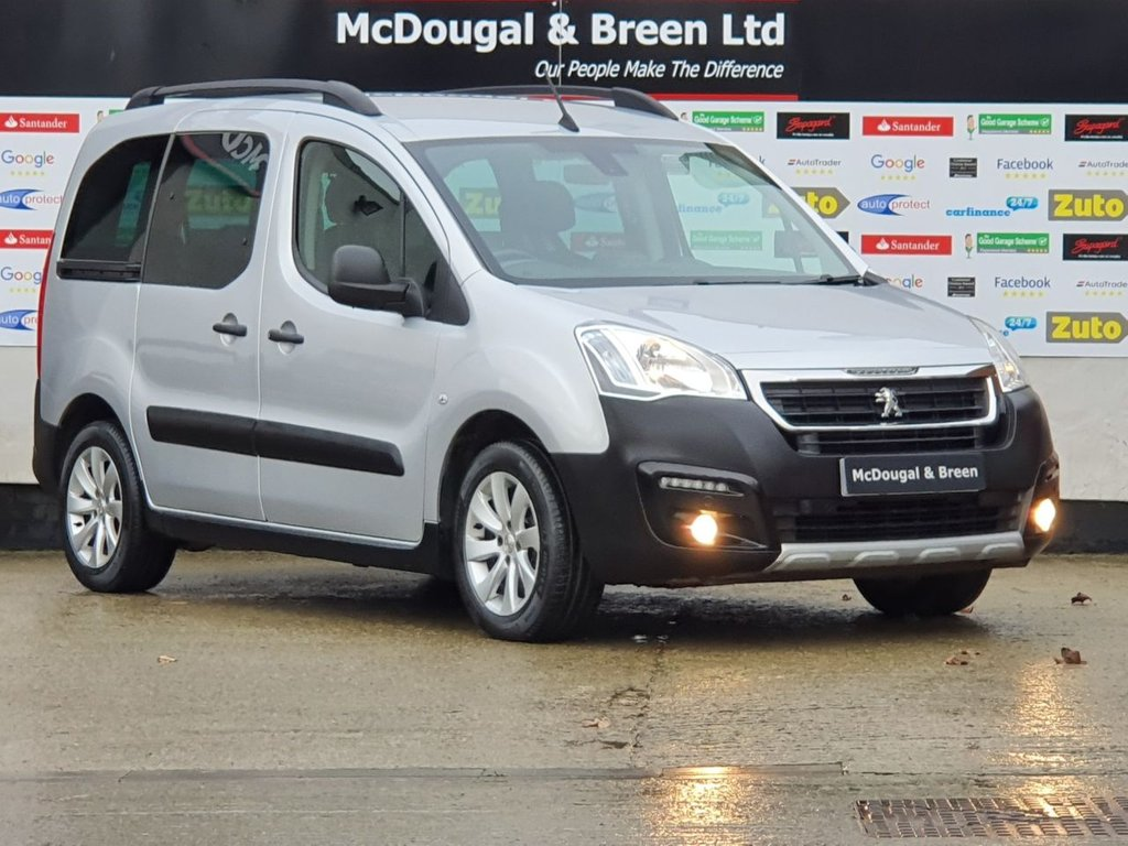 USED 2016 66 PEUGEOT PARTNER 1.6 BLUE HDI S/S TEPEE OUTDOOR 5d 100 BHP