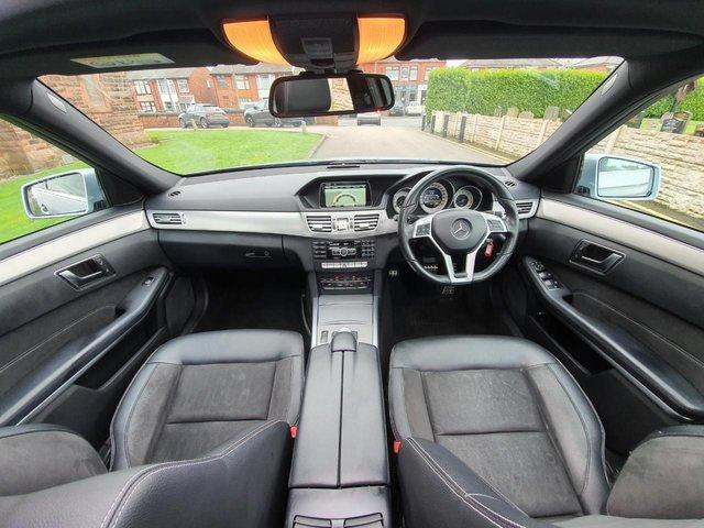 2014 14 MERCEDES-BENZ E-CLASS 3.0 E350 BLUETEC AMG SPORT 4d 249 BHP
