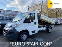 2016 CITROEN RELAY *EURO 6* 2.2 35 L2 TIPPER HDI 129 BHP**AIR CON** £9995.00
