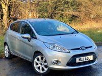 USED 2011 11 FORD FIESTA 1.4 TITANIUM 5d 96 BHP JUST BEEN SERVICED, MOT JAN 2021