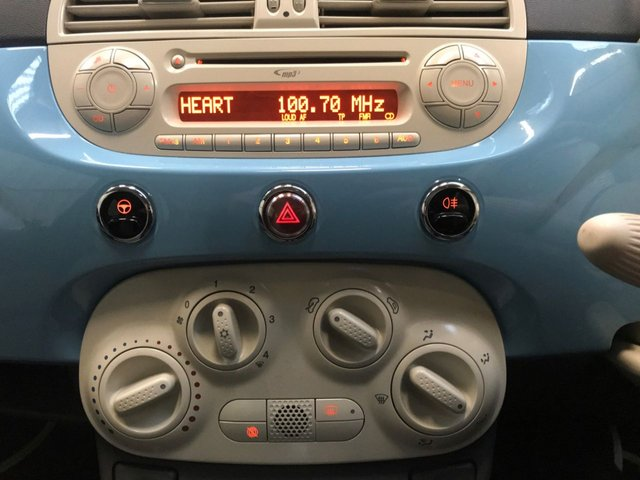 USED 2011 61 FIAT 500 1.2 LOUNGE 3d 69 BHP +1 Owner + Full Fiat History+
