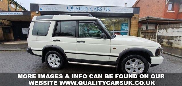 USED 2004 04 LAND ROVER DISCOVERY 4.0 V8 4.0 V8 HSE 1 UK OWNER. LOW MILES! JAPAN IMPORT PLEASE CALL US TO ARRANGE A VIEWING APPOINTMENT
