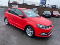 2017 VOLKSWAGEN POLO 1.2 MATCH EDITION TSI 5d 89 BHP £9950.00