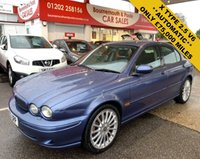 USED 2003 03 JAGUAR X-TYPE 2.5 V6 SPORT AUTOMATIC *ONLY 75,000 MILES*