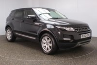 USED 2012 62 LAND ROVER RANGE ROVER EVOQUE 2.2 TD4 PURE TECH 5DR 150 BHP SERVICE HISTORY + HEATED LEATHER SEATS + SATELLITE NAVIGATION + REVERSE CAMERA + PARKING SENSOR + BLUETOOTH + CRUISE CONTROL + CLIMATE CONTROL + MULTI FUNCTION WHEEL + DAB RADIO + MERIDIAN PREMIUM SPEAKERS + XENON HEADLIGHTS + PRIVACY GLASS + ELECTRIC WINDOWS + ELECTRIC/HEATED DOOR MIRRORS + 18 INCH ALLOY WHEELS