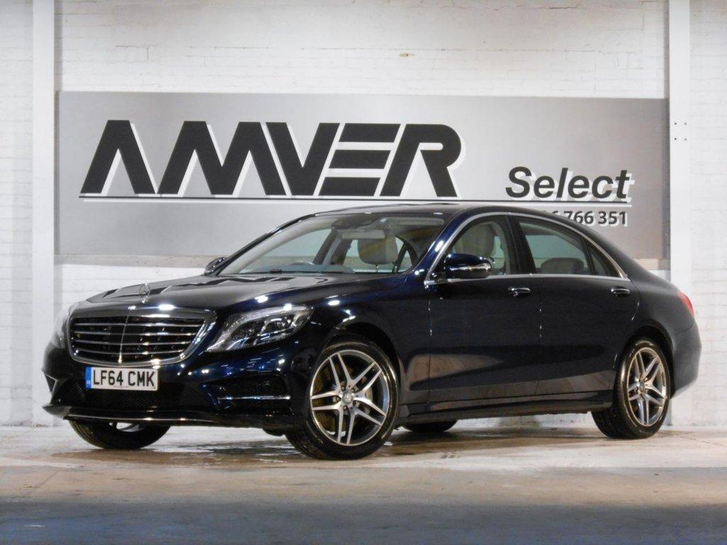 USED 2014 64 MERCEDES-BENZ S CLASS 3.0 S350 BLUETEC L AMG LINE 4d 258 BHP