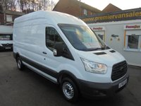2015 FORD TRANSIT 2.2 350 LONG WHEEL BASE H/ROOF P/V 125 BHP, ELECTRIC WINDOWS, PART EX WELCOME / FINANCE AVAILABLE PREMIER VAN SALES STOCKPORT SK3 0DT  £8500.00