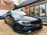 USED 2018 18 BMW 5 SERIES 2.0 520D M SPORT 4d AUTO 188 BHP