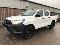 USED 2018 18 TOYOTA HI-LUX 2.4 D-4D D/CAB ACTIVE 4X4 MANUAL PICKUP **NEWSHAPE**VERY LOW MILES**