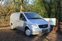USED 2015 64 MERCEDES-BENZ VITO 2.1 113 CDI LWB AIR CONDITIONING Air Conditioning, Bluetooth, Cruise Control